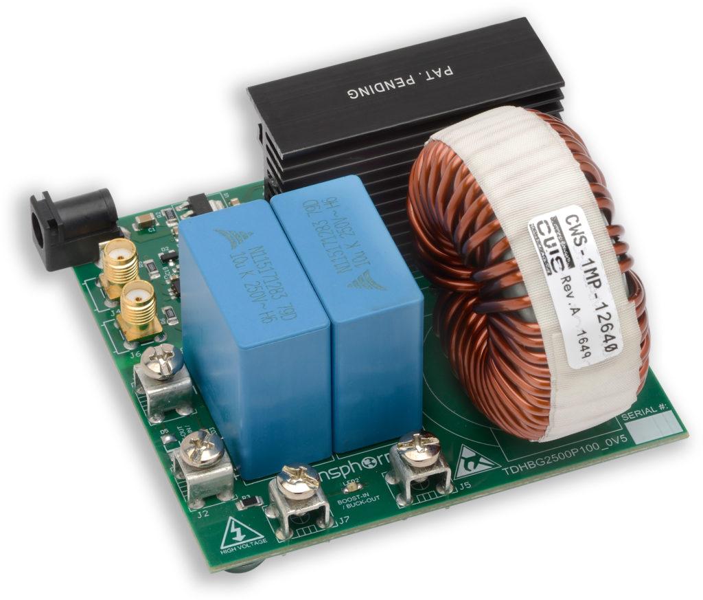 TDHBG2500P100-KIT for 2.5kW hard-switched half-bridge, buck or boost
