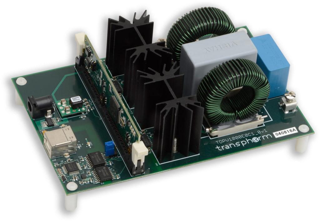 TDPV1000E0C1-KIT evaluation platform for 1kW inverter - Transphorm GaN FET