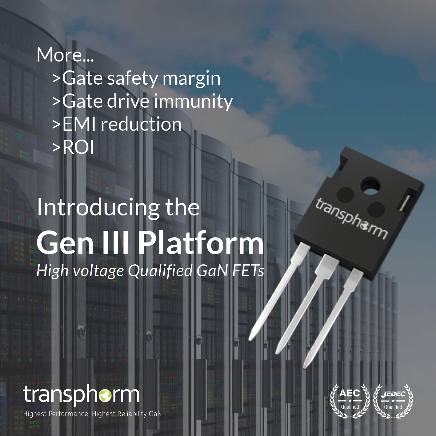 Transphorm Increases Noise Immunity And Reduces Switching With Rc Snubber Circuits Design Usage Electronics Basics Third Generation Gan Power Conversion Platform